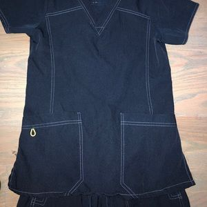 Navy Scrubs Set